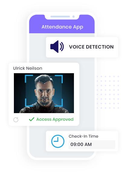 Voice Detection Enabled Attendance App